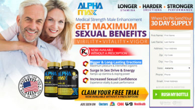 Alpha Max Male Enhancement 100 Increased Sexual Confidence